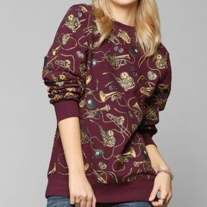 Stussy Brass Pullover Sweatshirt